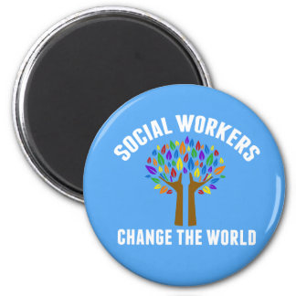 Cute Social Work Quote Magnet