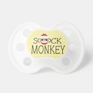Cute Sock Monkey Pacifier