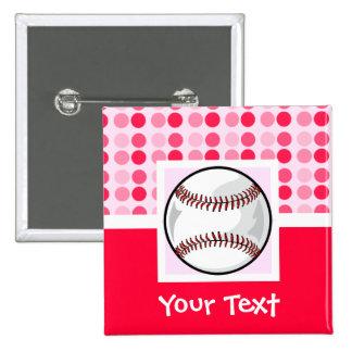 Cute Softball Button