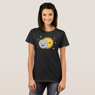 Cute Solar Eclipse T-Shirt Astronomy Science