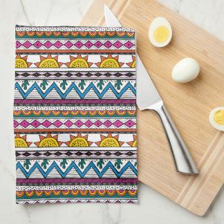 Cute Southwestern Stripe Kitchen Towels