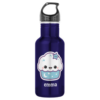 Cute Space Cupcake 532 Ml Water Bottle