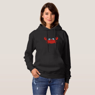 Cute Specky Crab Illustration Hoodie