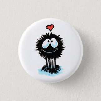 Cute Spider Shares the Love! 3 Cm Round Badge