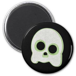 Cute Spook Ghost Design 6 Cm Round Magnet