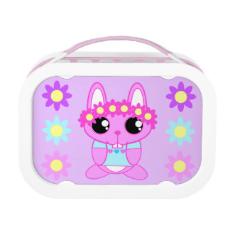 Cute Spring Bunny Rabbit Lunchboxes