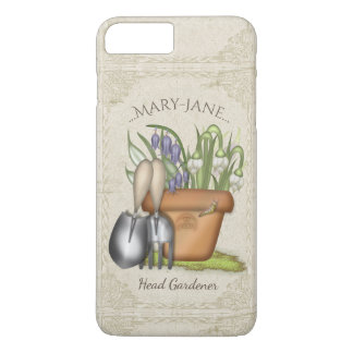 Cute Spring Gardening iPhone 8 Plus/7 Plus Case