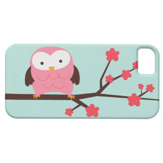 Cute Spring Owl iPhone 5 Cover