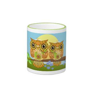 Cute Spring Owls Mug