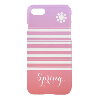 Cute Spring Stripes iPhone 7 Case