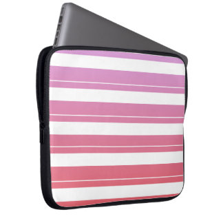 Cute Spring Stripes Laptop Computer Sleeves