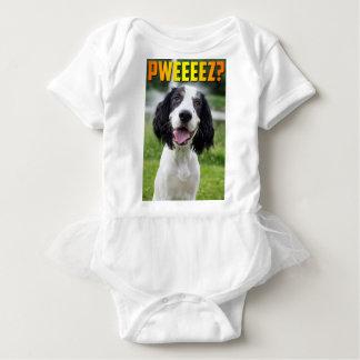 Cute Springer Spaniel Puppy Print! Baby Bodysuit