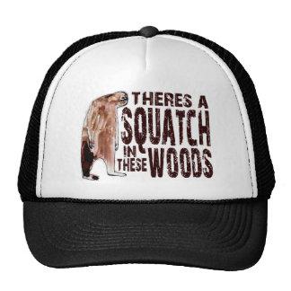 Cute SQUATCH IN THESE WOODS - Finding Bigfoot Gear Cap