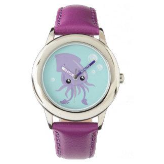 Cute Squid Watch