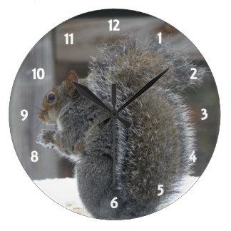 Cute Squirrel Clock