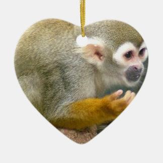 Cute Squirrel Monkey Ornaments