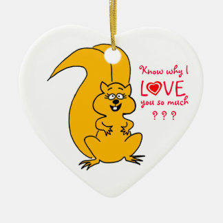 Cute Squirrel Ornament for Your Christmas Tree