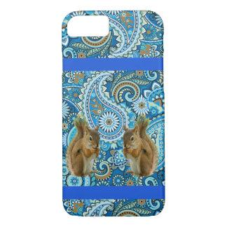 Cute Squirrels Colorful Iphone Case