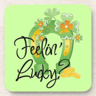 Cute St. Patrick's Day Drink Coasters