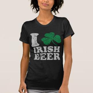 Cute St Patricks Day I Shamrock Irish Beer Tee Shirts