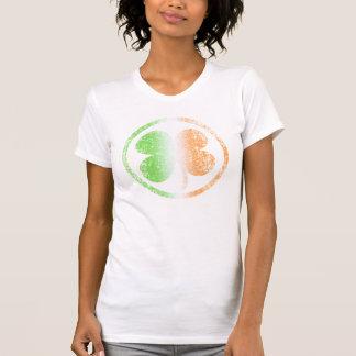 Cute St Patrick's Day Irish Shamrock fade T-Shirt