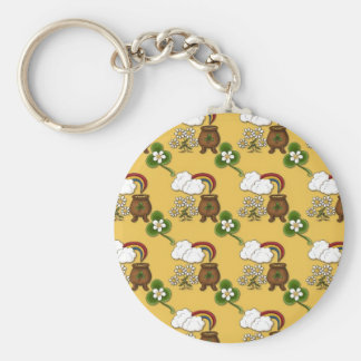 Cute St. Patrick's Day Keychain