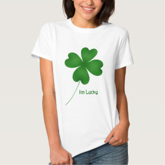 Cute St. Patrick's Day lucky shamrock T-shirts