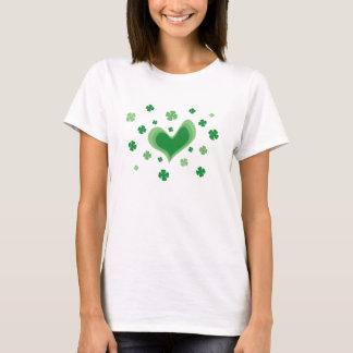 Cute St Patricks Day shirt for irish girls