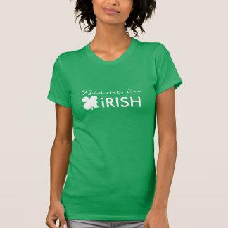 Cute St patrick's Day T shirt | Kiss me i'm Irish