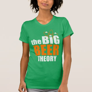 Cute St Patrick's Day The Big Beer Theory T-Shirt