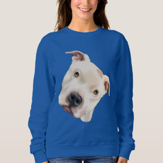 Cute Staffordshire Terrier Pitbull Puppy Sweatshirt