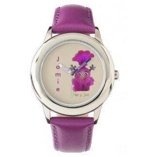 Cute Stainless Steel Wrist Watch - Lila