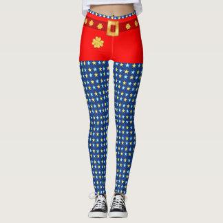 Cute starry leggings