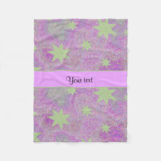 Cute Stars Fleece Blanket