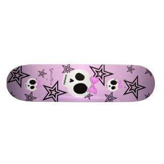 Cute Stars n Skulls Deck Skate Boards