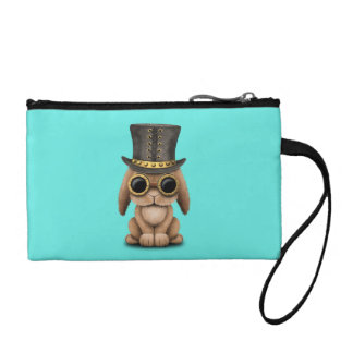 Cute Steampunk Baby Bunny Rabbit Coin Purse