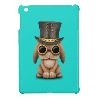 Cute Steampunk Baby Bunny Rabbit iPad Mini Cover