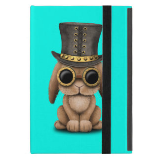 Cute Steampunk Baby Bunny Rabbit iPad Mini Cover