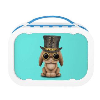 Cute Steampunk Baby Bunny Rabbit Lunch Box