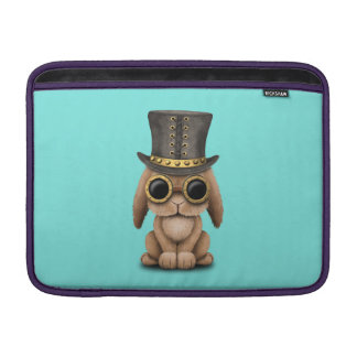 Cute Steampunk Baby Bunny Rabbit Sleeve For MacBook Air
