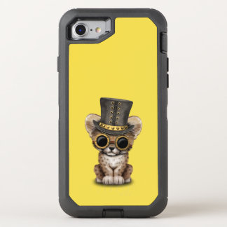 Cute Steampunk Baby Cheetah Cub OtterBox Defender iPhone 8/7 Case