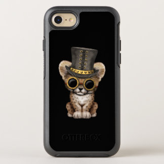 Cute Steampunk Baby Cheetah Cub OtterBox Symmetry iPhone 8/7 Case