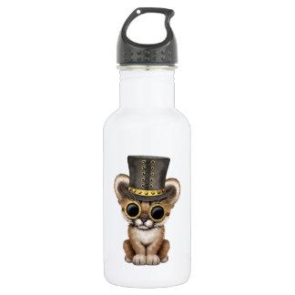 Cute Steampunk Baby Cougar Cub 532 Ml Water Bottle