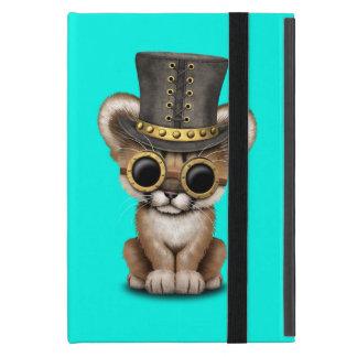 Cute Steampunk Baby Cougar Cub Case For iPad Mini