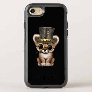 Cute Steampunk Baby Cougar Cub OtterBox Symmetry iPhone 8/7 Case