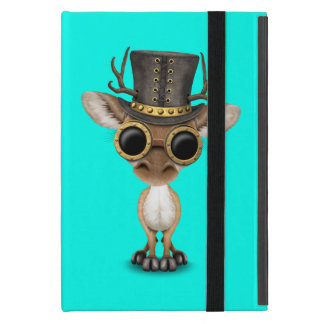 Cute Steampunk Baby Deer Cover For iPad Mini