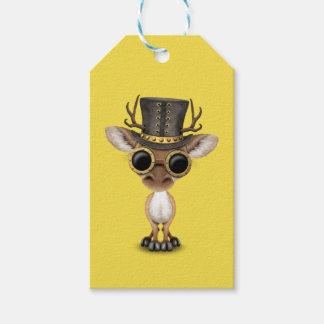 Cute Steampunk Baby Deer Gift Tags