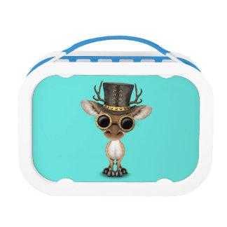 Cute Steampunk Baby Deer Lunch Box