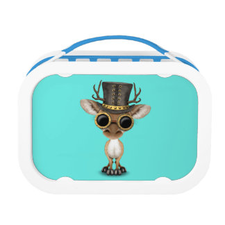Cute Steampunk Baby Deer Lunch Boxes