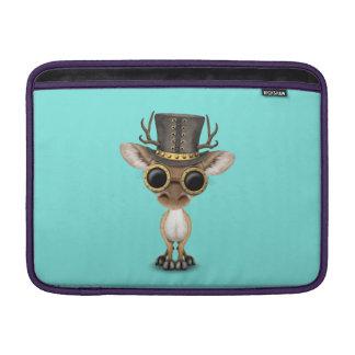 Cute Steampunk Baby Deer MacBook Sleeve